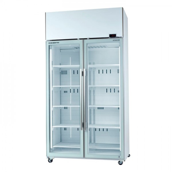skope 2 glass door display fridge