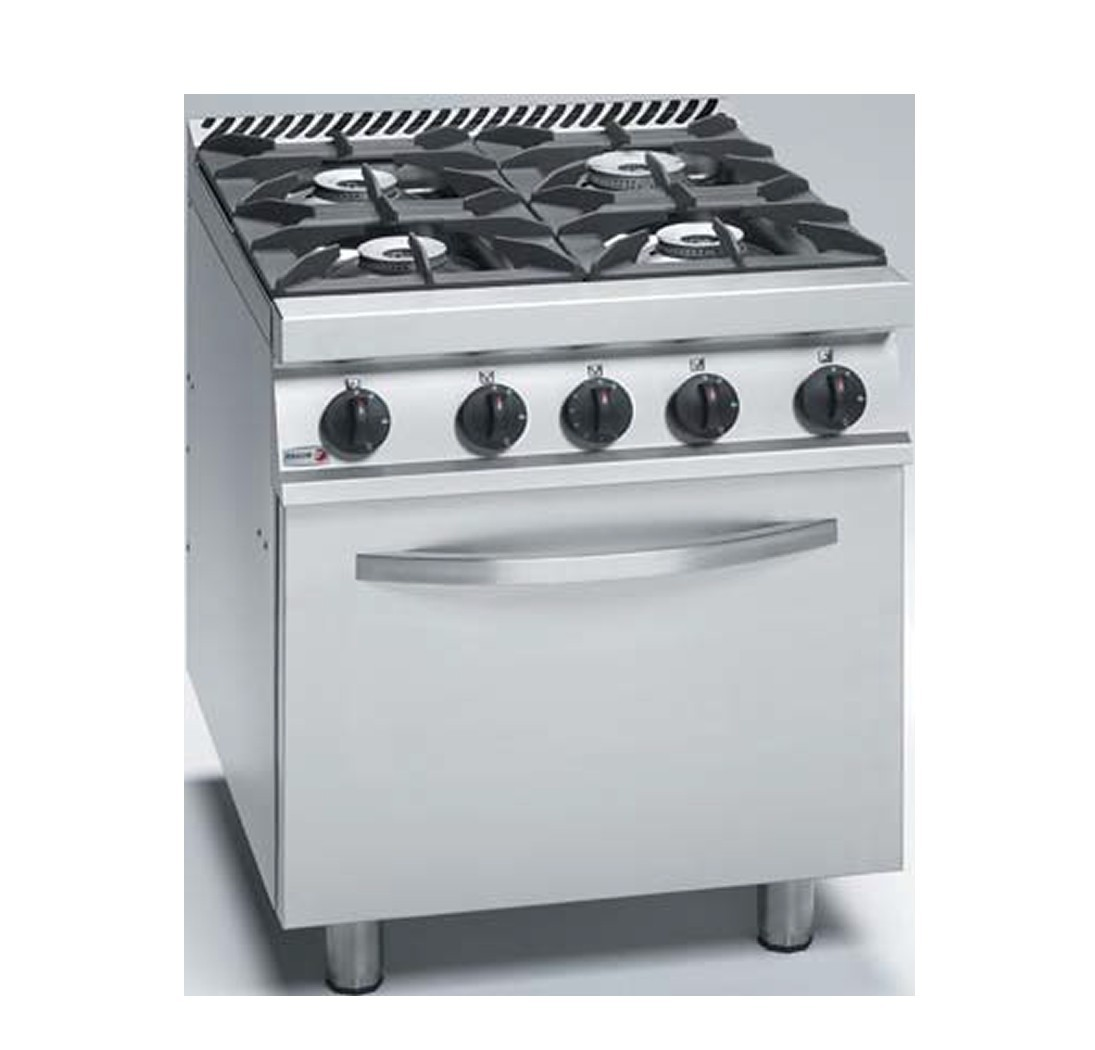 Fagor 4-Burner Gas Range