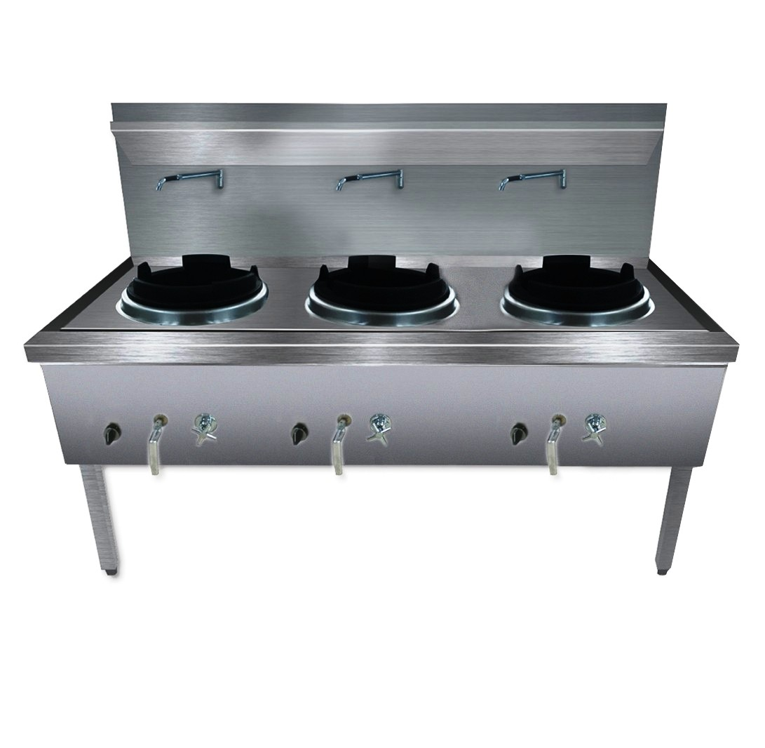 Gasmax Waterless Wok WW-3N